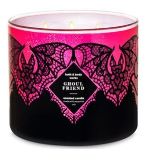 🦇 BBW Ghoul Friend 3-Wick Candle NEW